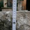 Natursteinbank aus antikem Material
