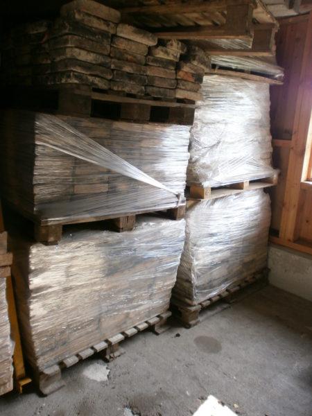 69qm antike Terracottaplatten/Klinkerplatten, 5cm stark
