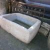 Eine alte Tränke aus Sandstein