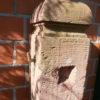 Antiker Sandsteinbrunnen aus dem schönen Odenwald