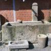 Sehr großer Brunnen aus Sandstein