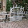 19,5 Meter Jugendstil Zaun